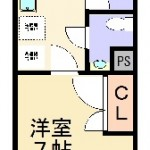 1K(間取)